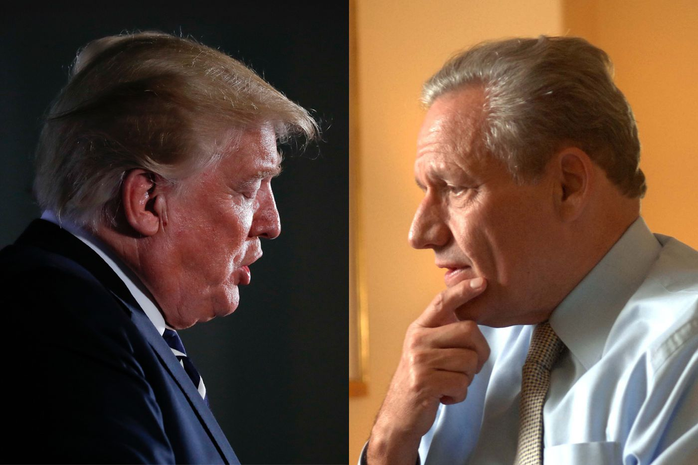 Trump to Woodward: 'Sounds like this is going to be a bad one'