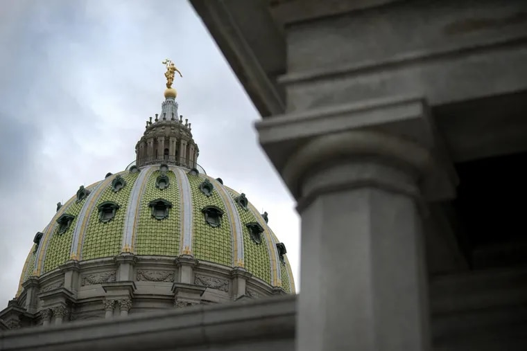 The State Capitol in Harrisburg, Pennsylvania. (Paul Taggart/Bloomberg)