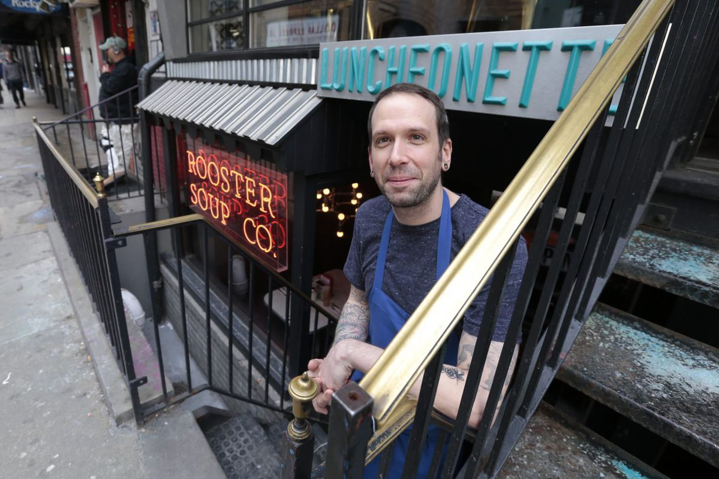 At Rooster Soup, Sabatino rethinking how and why he cooks
