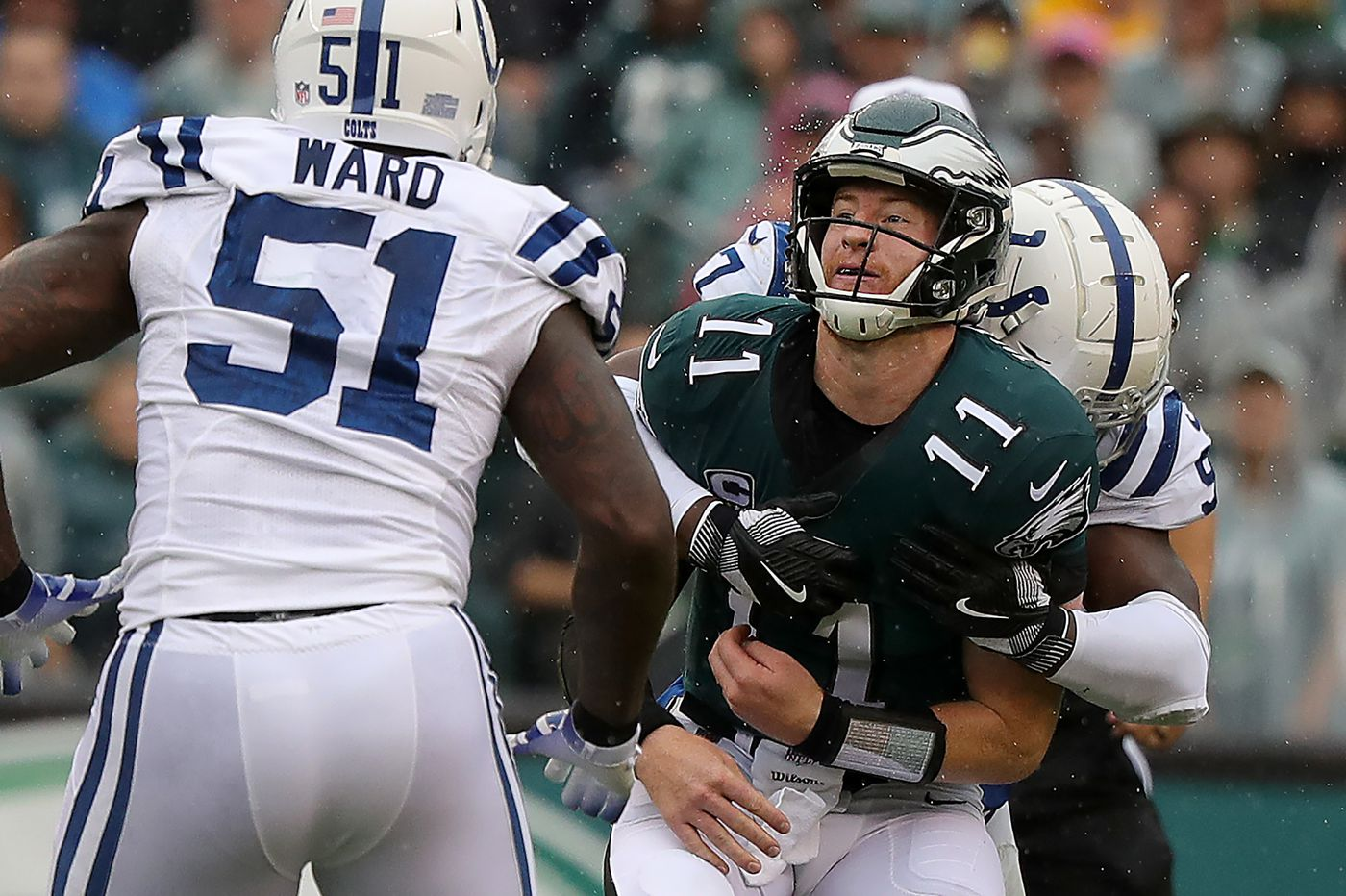 The NFL's roughing-the-passer conundrum hasn't really harmed the Eagles. Yet. | Mike Sielski
