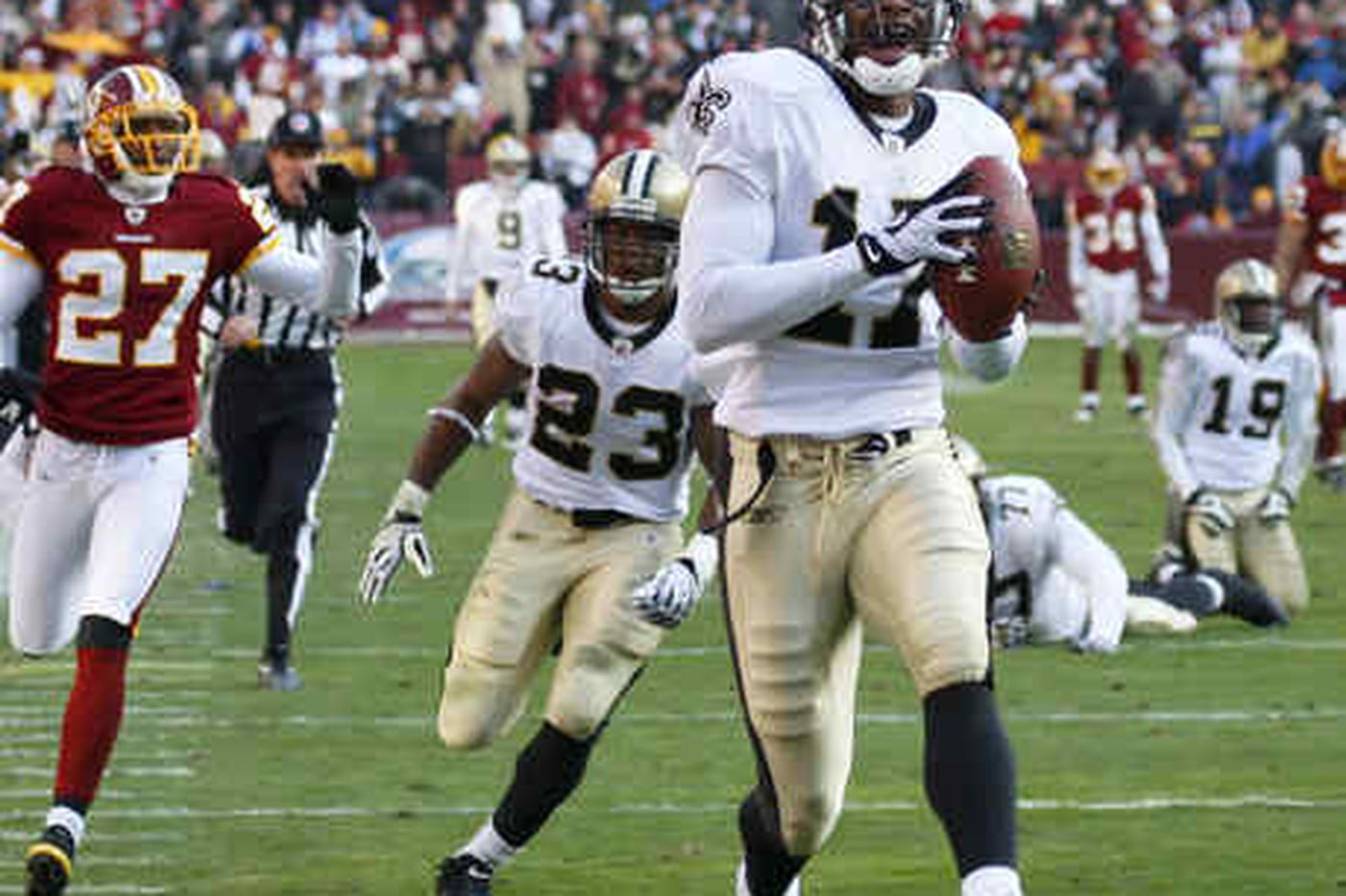 Saints put the voodoo on Redskins for a win