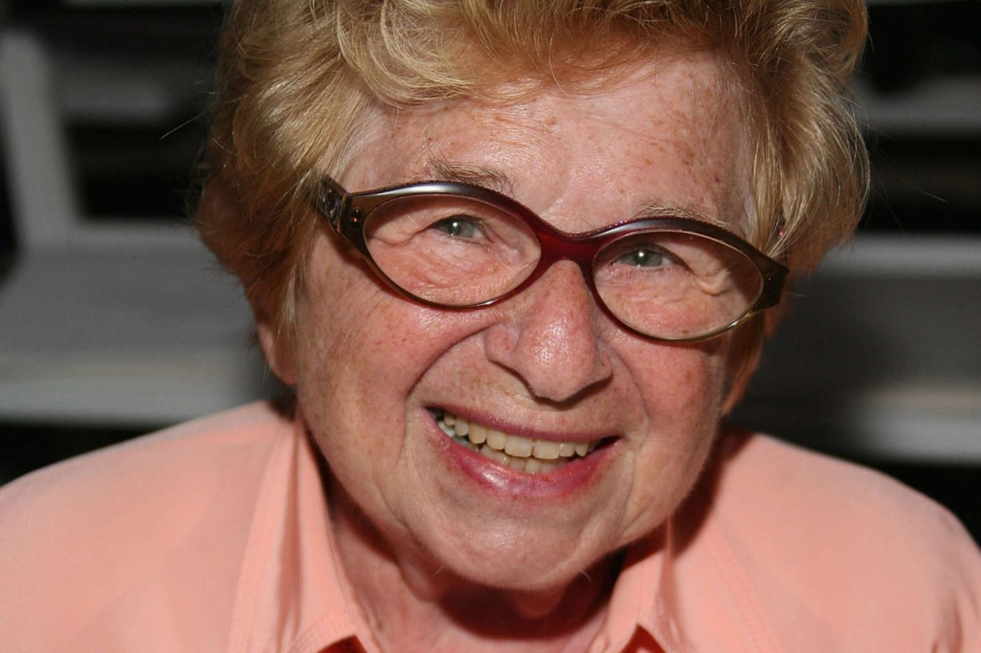 Why sex expert Dr. Ruth will be hiding in plain sight in a Philly suburb tonight