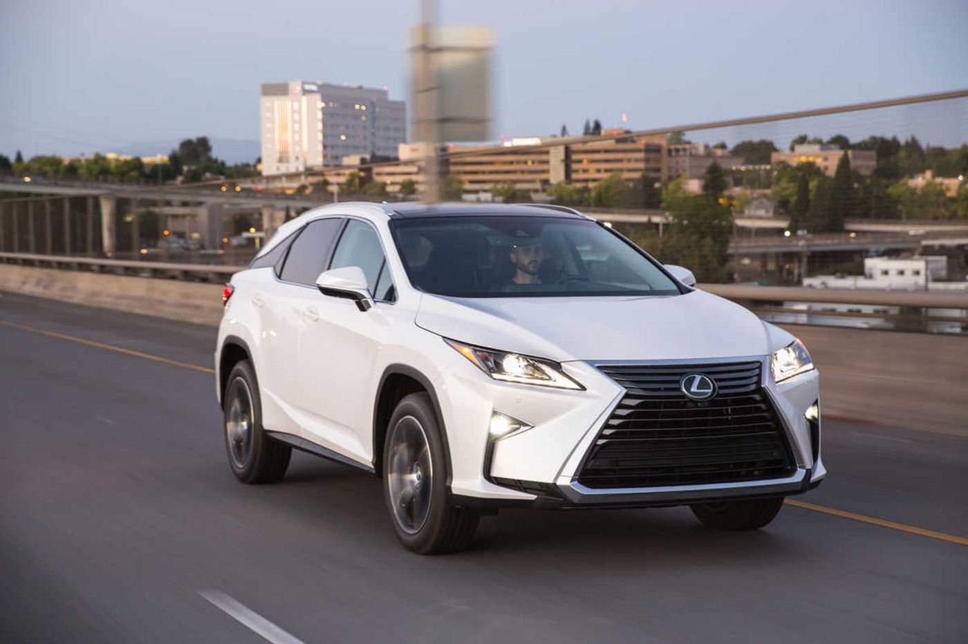With Lexus RX350, the beauty comes from within
