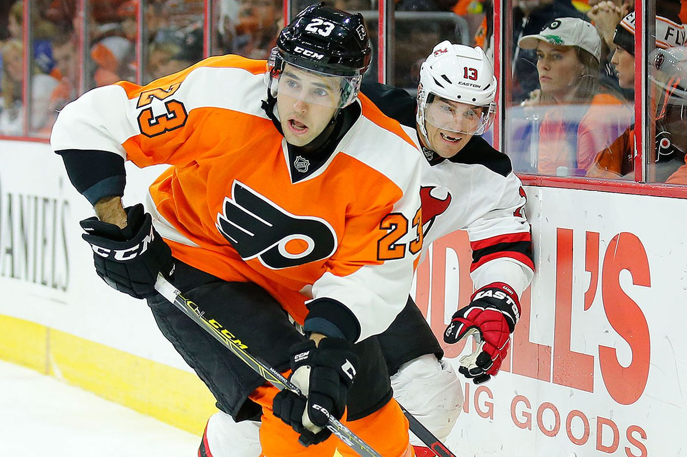 Brandon Manning replaces injured Nick Schultz for Flyers