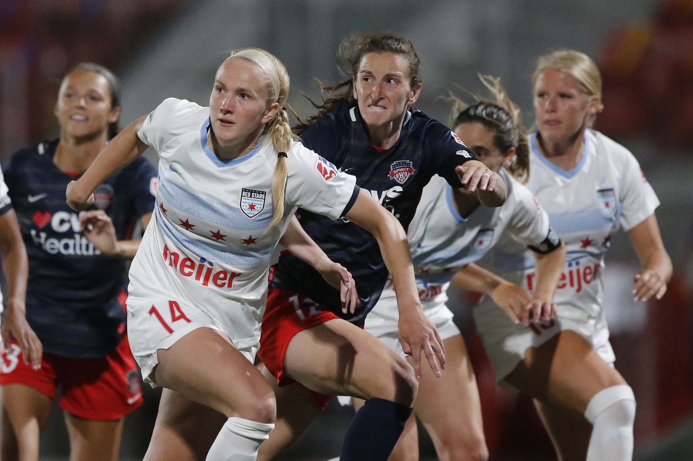 Soccer on TV: NWSL Challenge Cup, Barcelona-Atlético Madrid, Manchester City-Liverpool