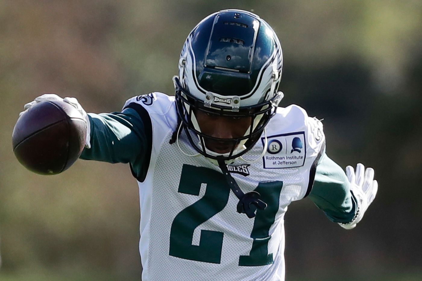 Eagles cornerback Ronald Darby confident he'll be ready for the start of the season
