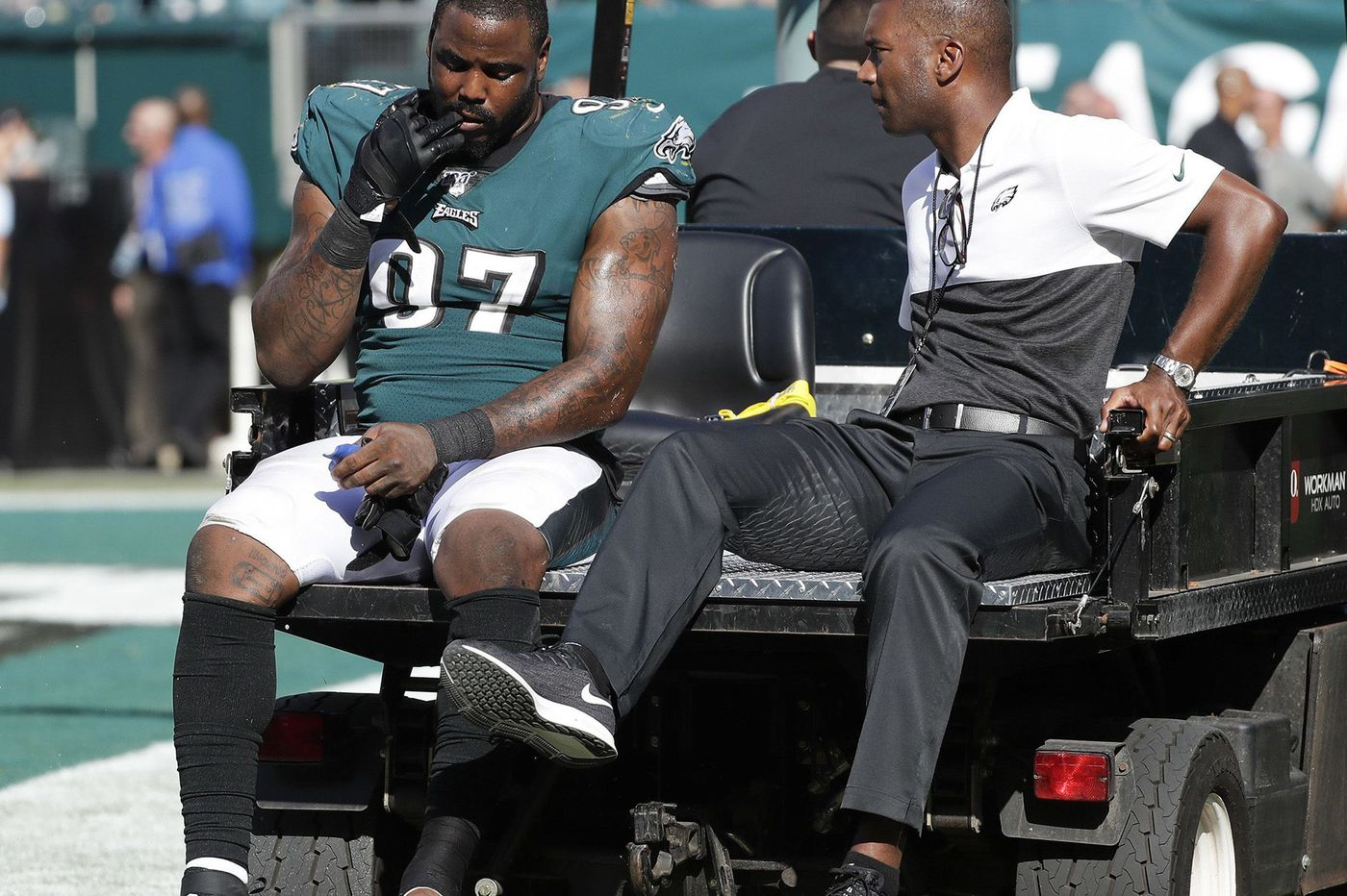 Malik, the other Jackson whose early injury affected the Eagles, and Fletcher Cox will regroup in 2020