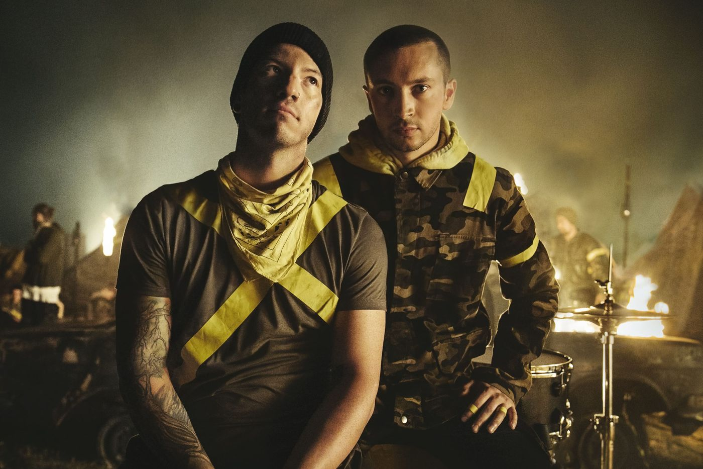 Twenty One Pilots put on a mind-boggling show at the Wells Fargo Center