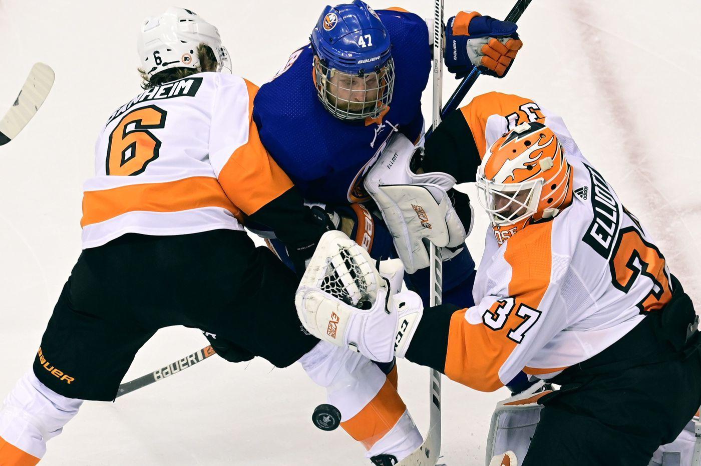 Third periods haunting Flyers; Oskar Lindblom working hard to return