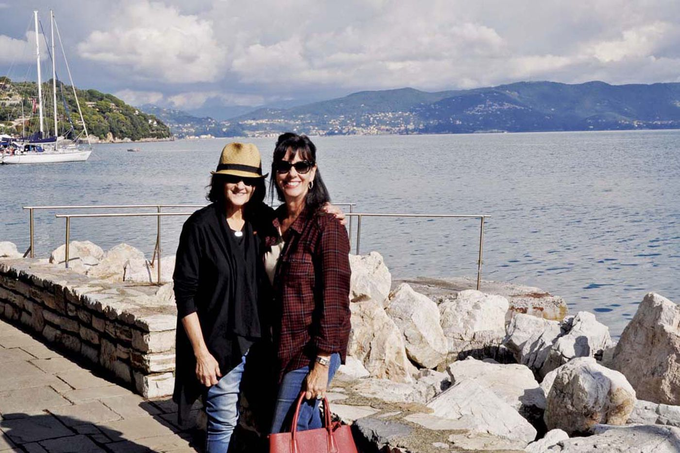 Best friends delight in Italy - cooking, eating, shopping together