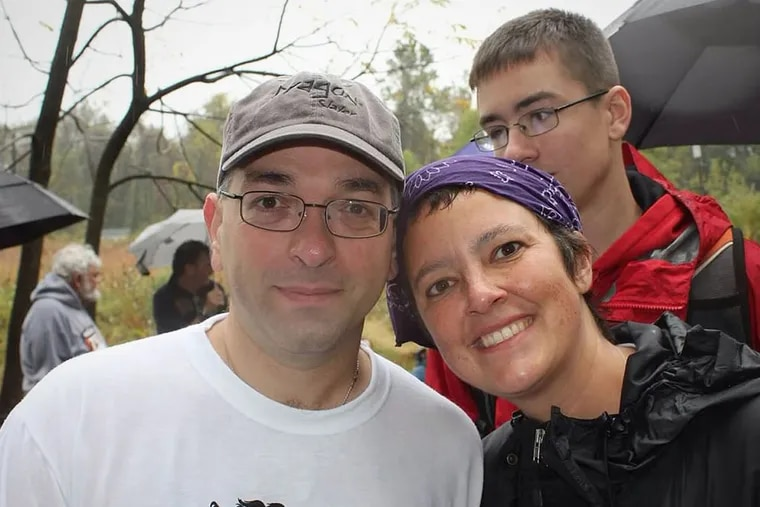 Hooman Noorchashm and his wife, Amy Reed, raised money for sarcoma, the cancer that a medical device spread inside her abdominal cavity. (Hooman Noorchashm photo)