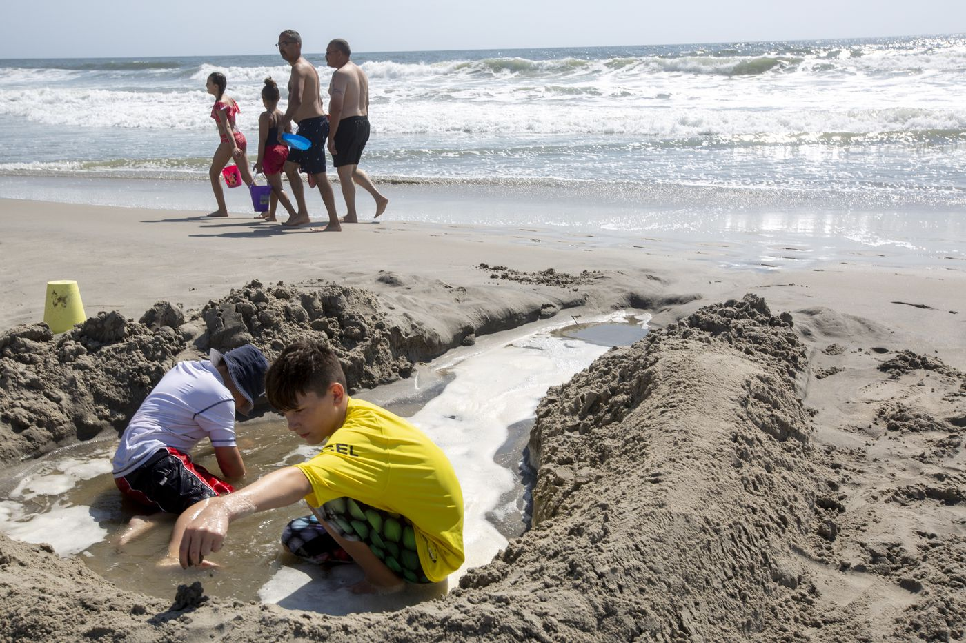 One last sandcastle: at Shore, a Labor Day end to summer 2019
