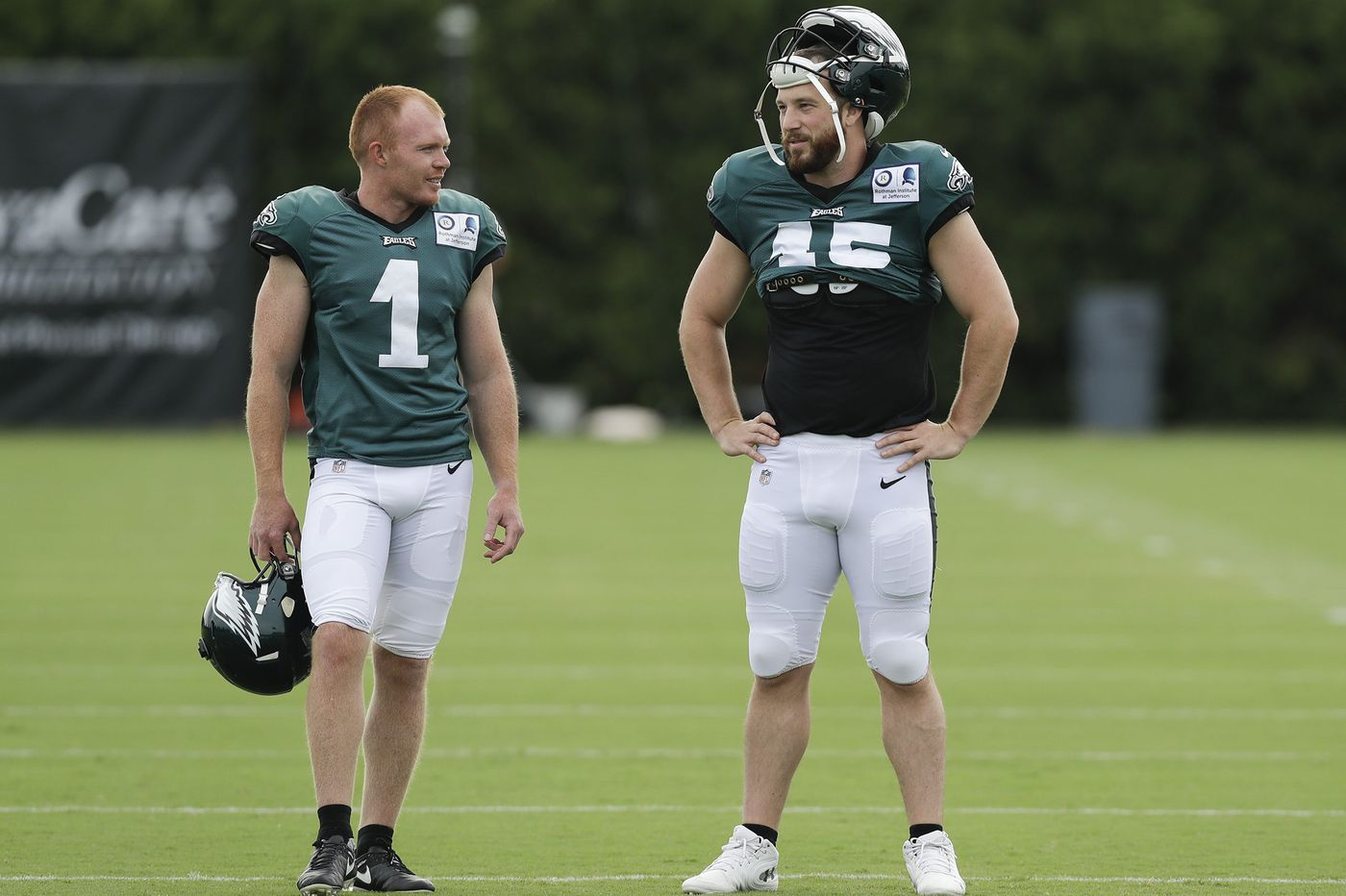 11d0f4657ad Eagles punter Cameron Johnston doesn't yet have a leg up on the job | Jeff  McLane