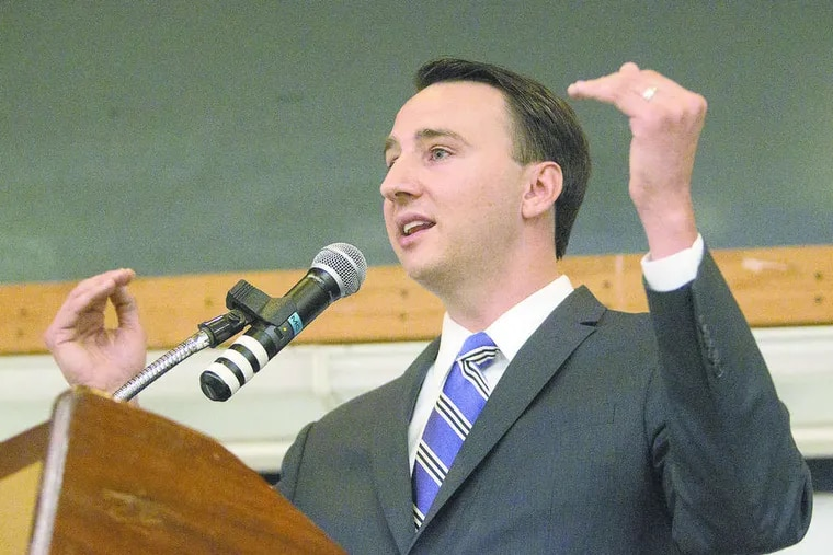 Former Pennsylvania Republican U.S. Rep Ryan Costello.