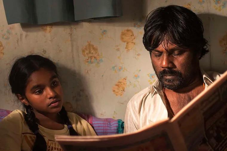 "Immigrant life: Claudine Vinasithamby (left) and Antonythasan Jesuthasan are Sri Lankan refugees in ""Dheepan."""