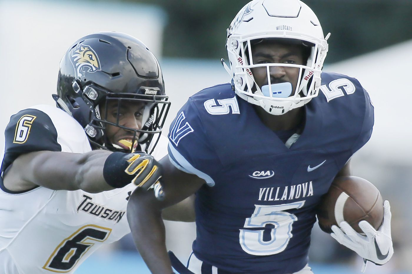 After quick start, Villanova gets swamped in 45-35 loss to Towson
