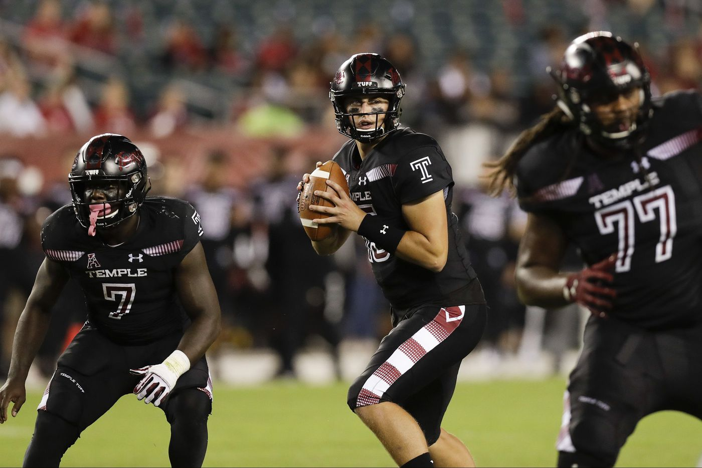 Temple once again in a quarterback dilemma, this time between Frank Nutile and Anthony Russo