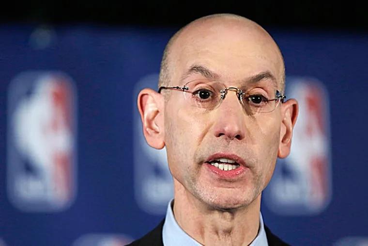 NBA Commissioner Adam Silver. (Richard Drew/AP)