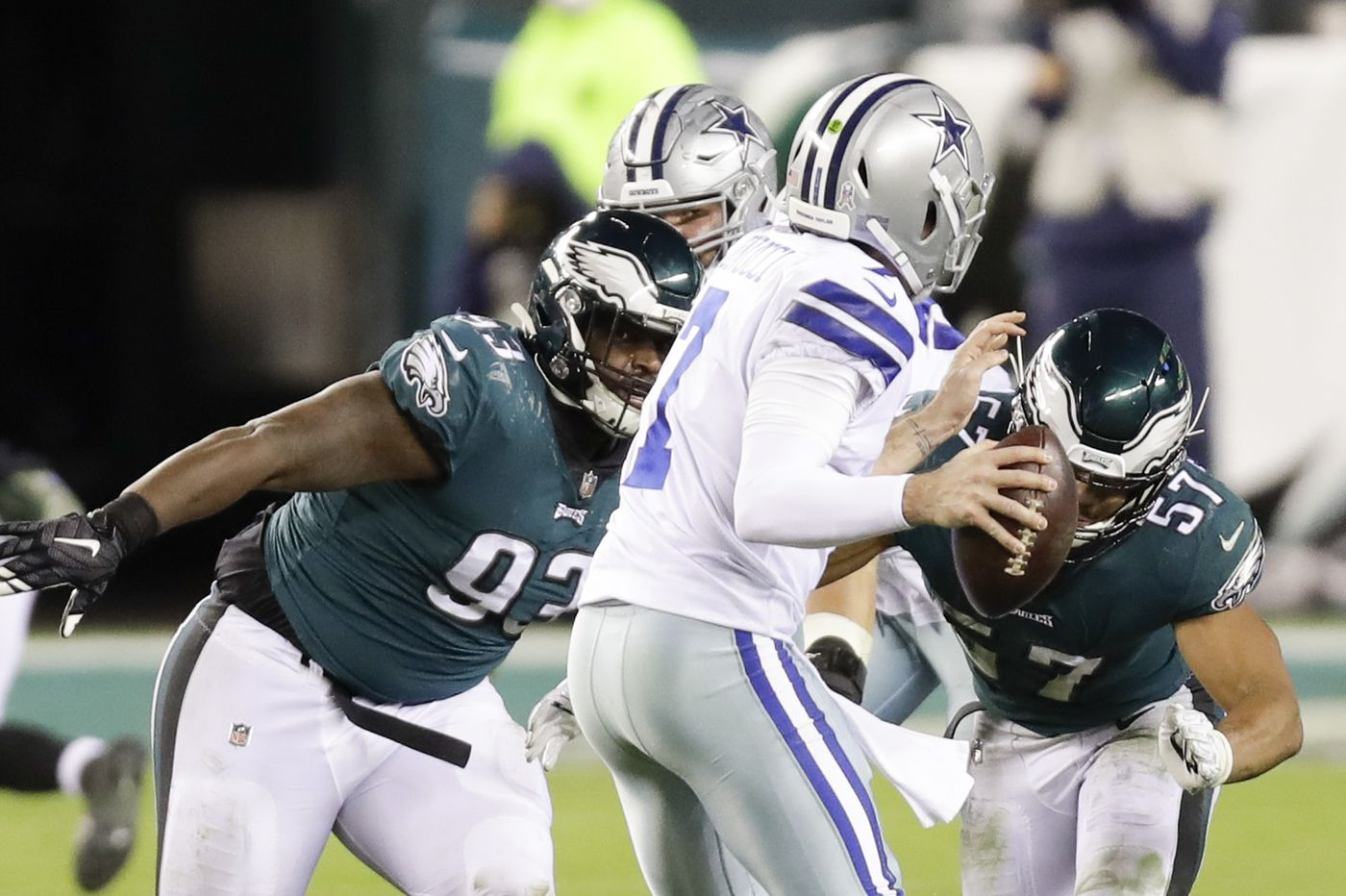 Eagles' remaining opponents present all sorts of challenges after bye week