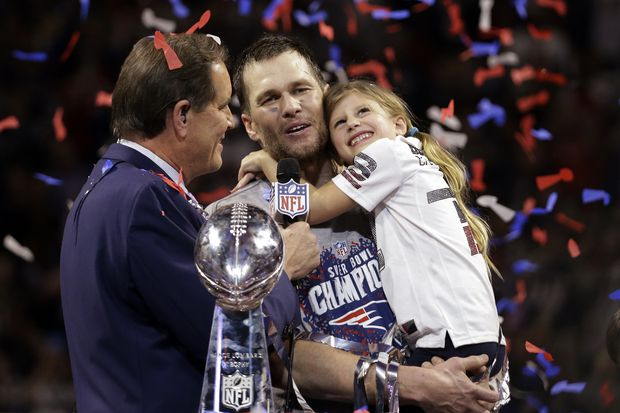 It was far from Tom Brady's best, but the G.O.A.T. helped the Patriots win their sixth Super Bowl