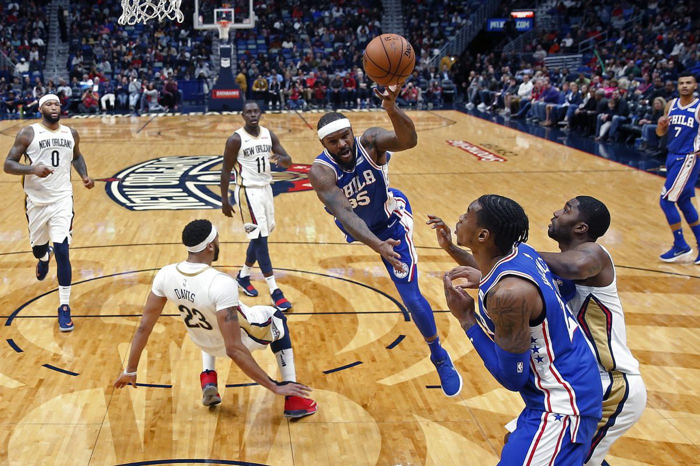 Trevor Booker contributes, and other observations from Sixers-Pelicans
