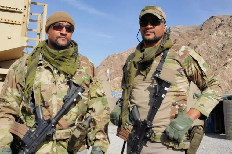 """Vince (left) and Vance Moss are identical twin brothers, physicians, and Army Reservists with a history of medical missions to Afghanistan. They are """"devastated"""" by the U.S. pullout and Taliban takeover."""