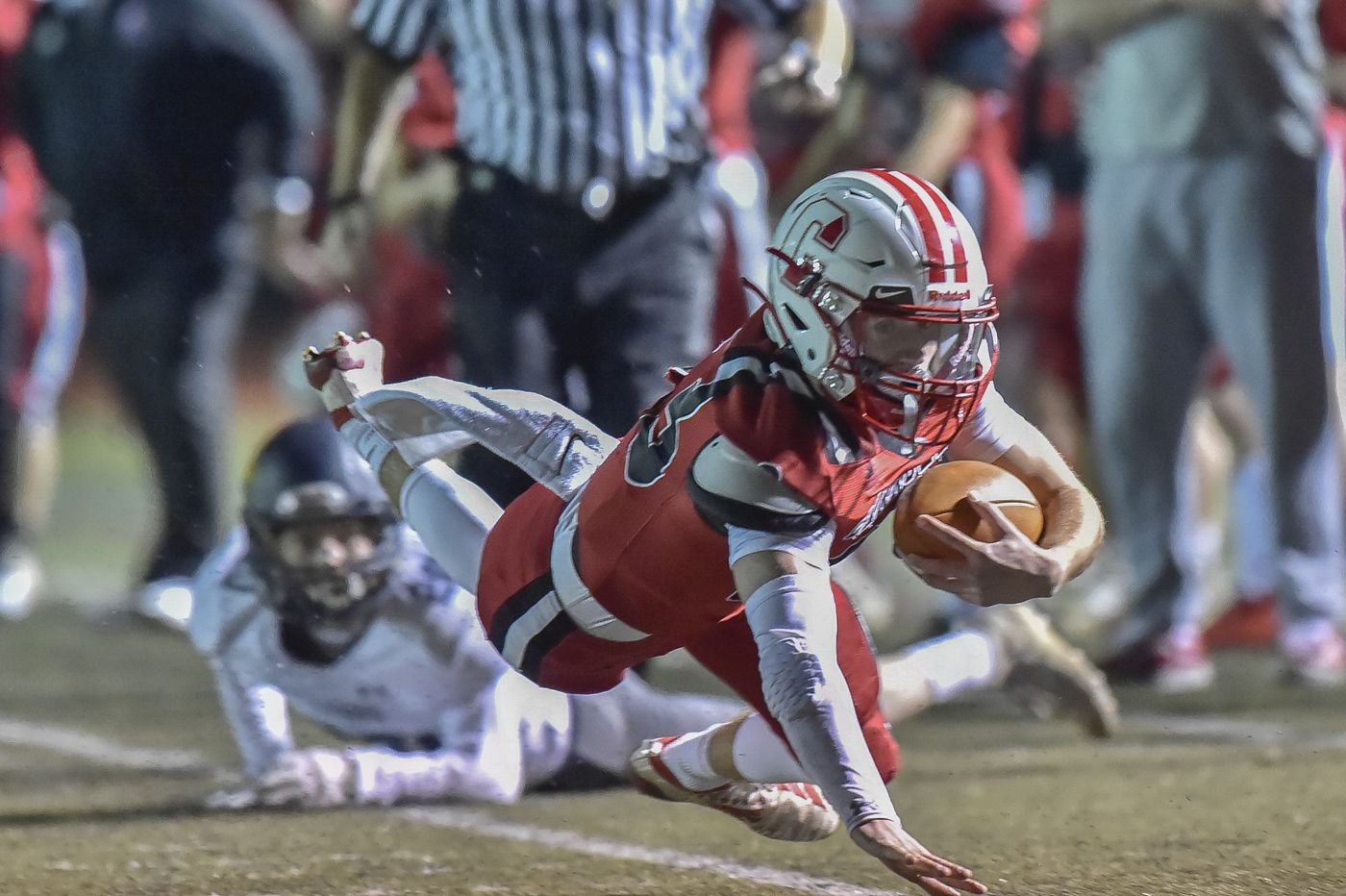 Nick Lamey sets pace for Archbishop Carroll in PIAA football playoffs