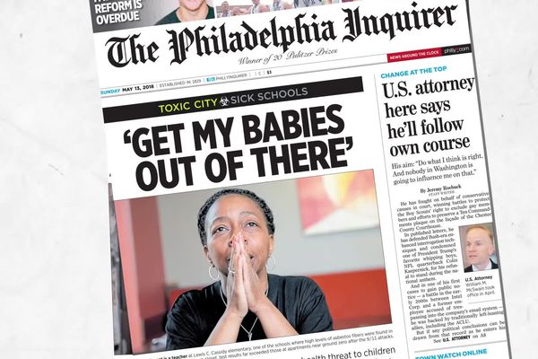 The Inquirer's 'Toxic City' series wins national investigative reporting award