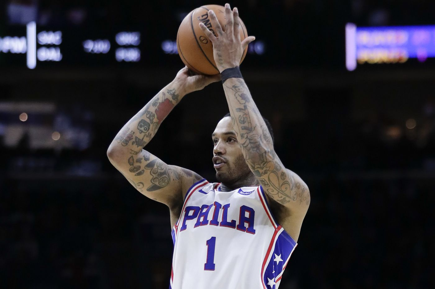 Mike Scott was overshadowed by Joel Embiid but made major contribution to Sixers' win at Boston | Off the Drib