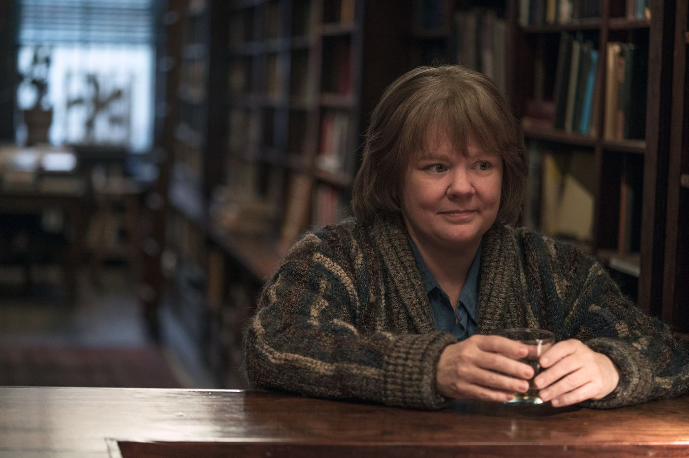 Forging a new career: Melissa McCarthy is a writer turned fraudster in 'Can You Ever Forgive Me?'