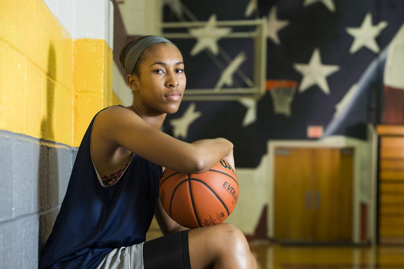 Azana Baines making big noise for Gloucester Catholic girls' basketball