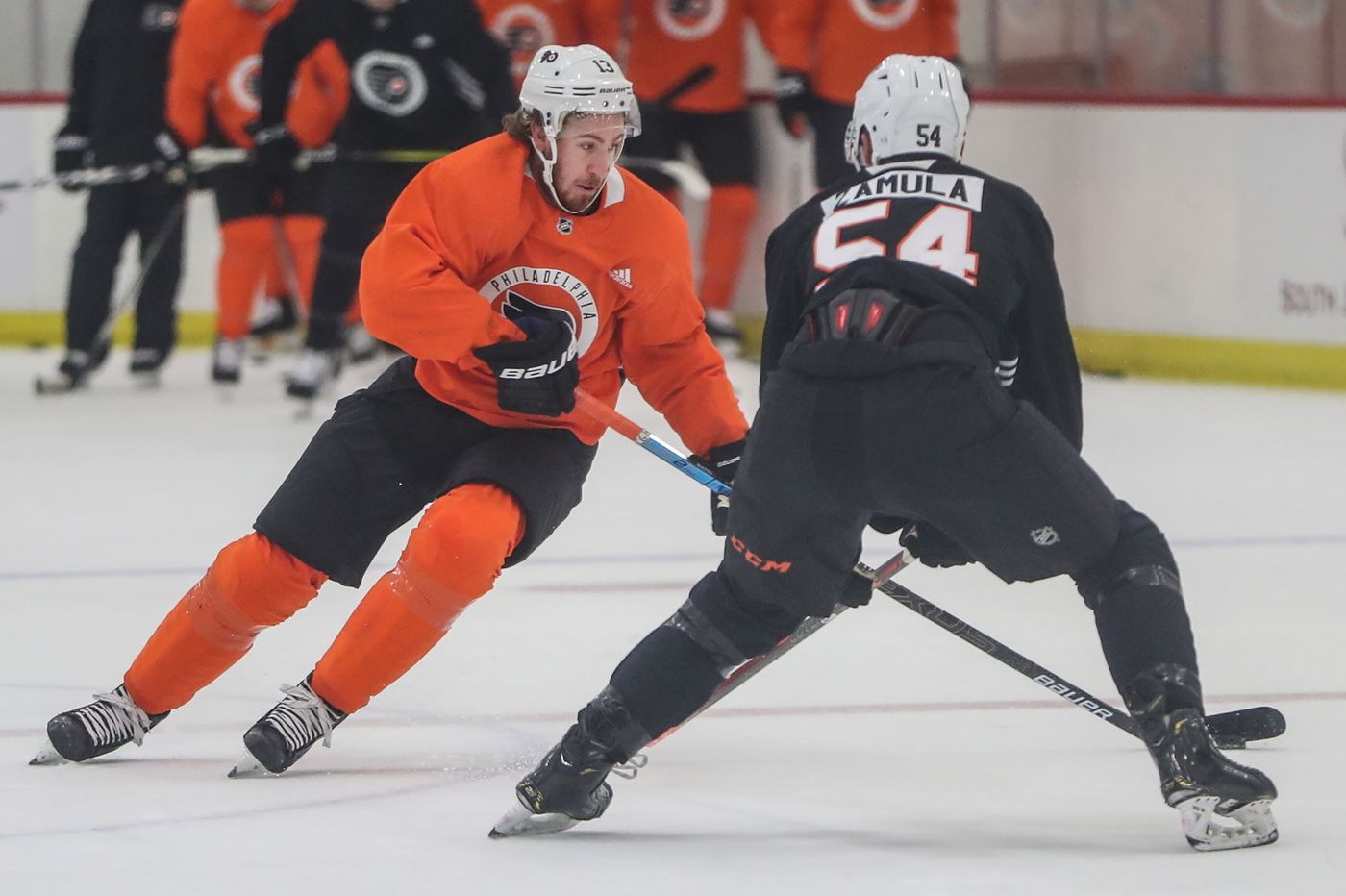 Kevin Hayes, Frost Line on display as Flyers open exhibition season Monday at home