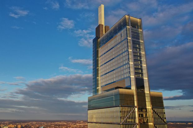 Comcast's new skyscraper syncs its architecture to the rhythms of Philadelphia