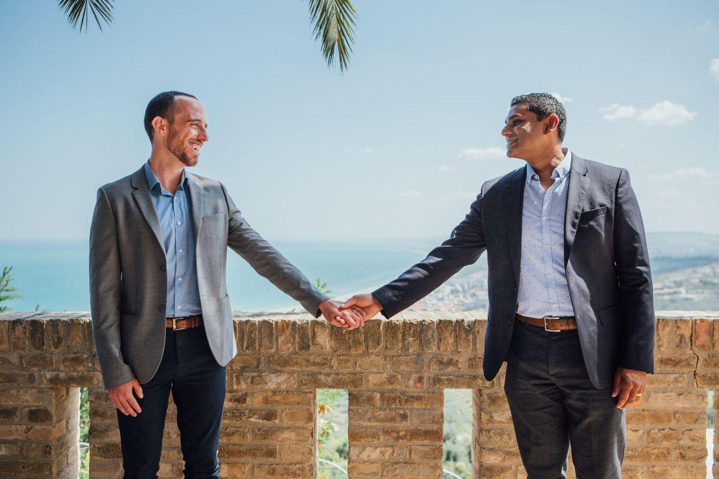 Philadelphia weddings: Kyle D'Ascenzo and Avinash Raizada