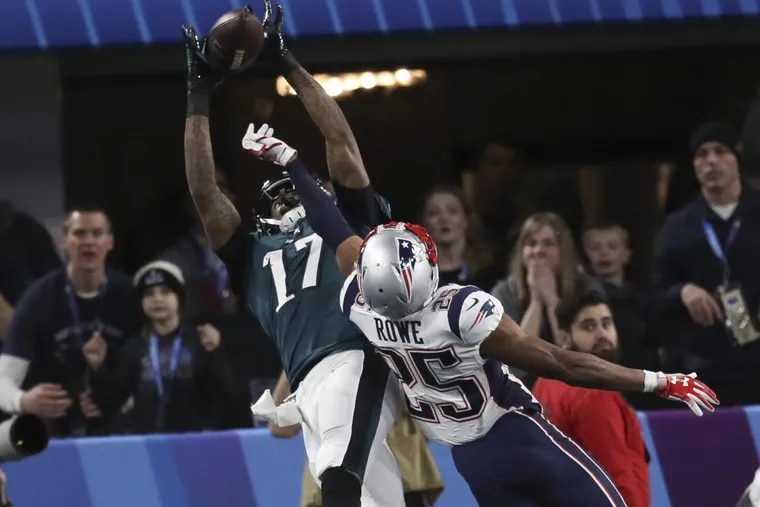 Alshon Jeffery, the Philadephia Eagles' top wide receiver played all season – including in the Super Bowl – with a torn rotator cuff. Now he's healing from surgery and hoping to play in the preseason.