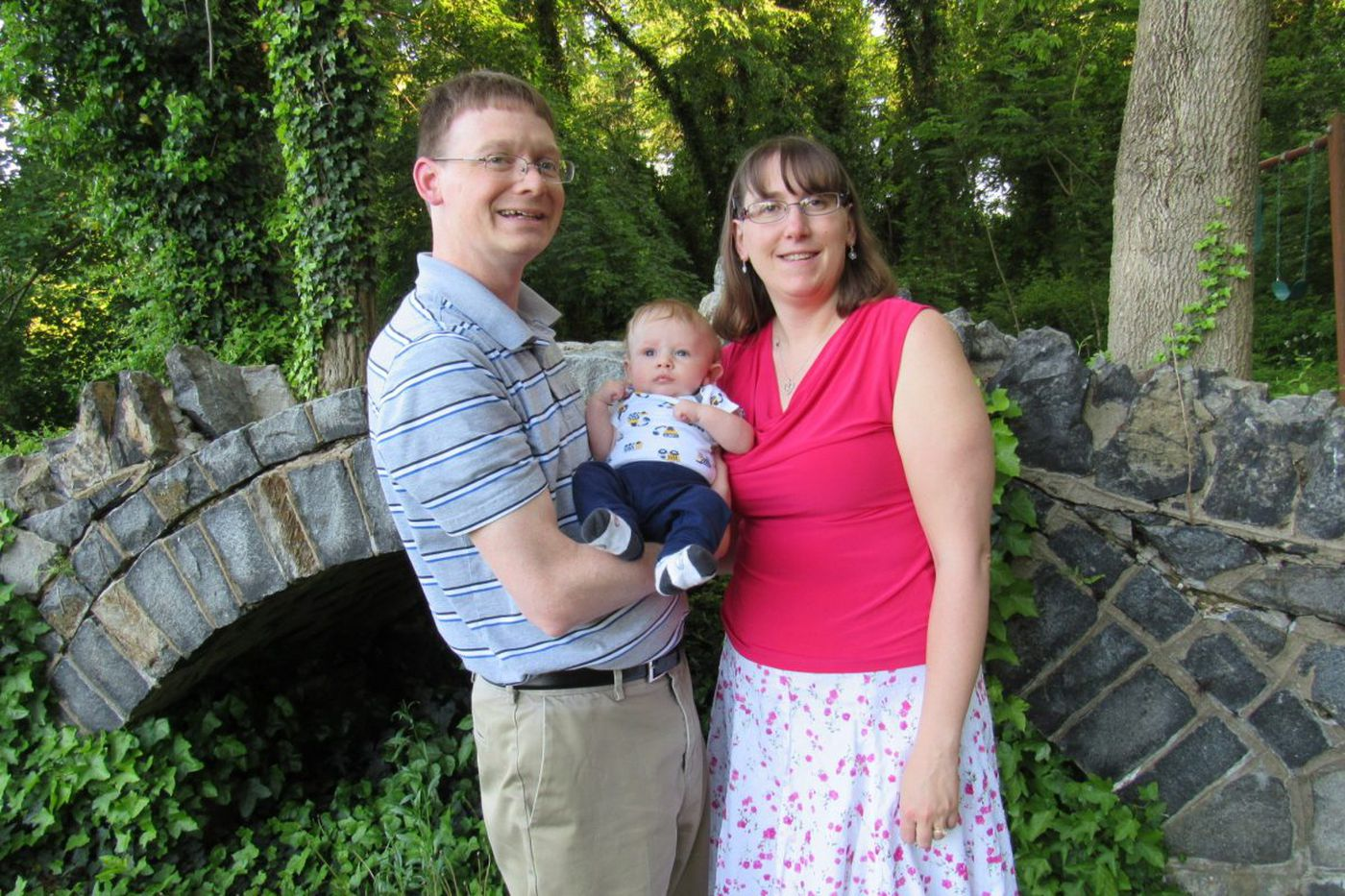 The Parent Trip: Chrissy and Sean Hower of Wilmington