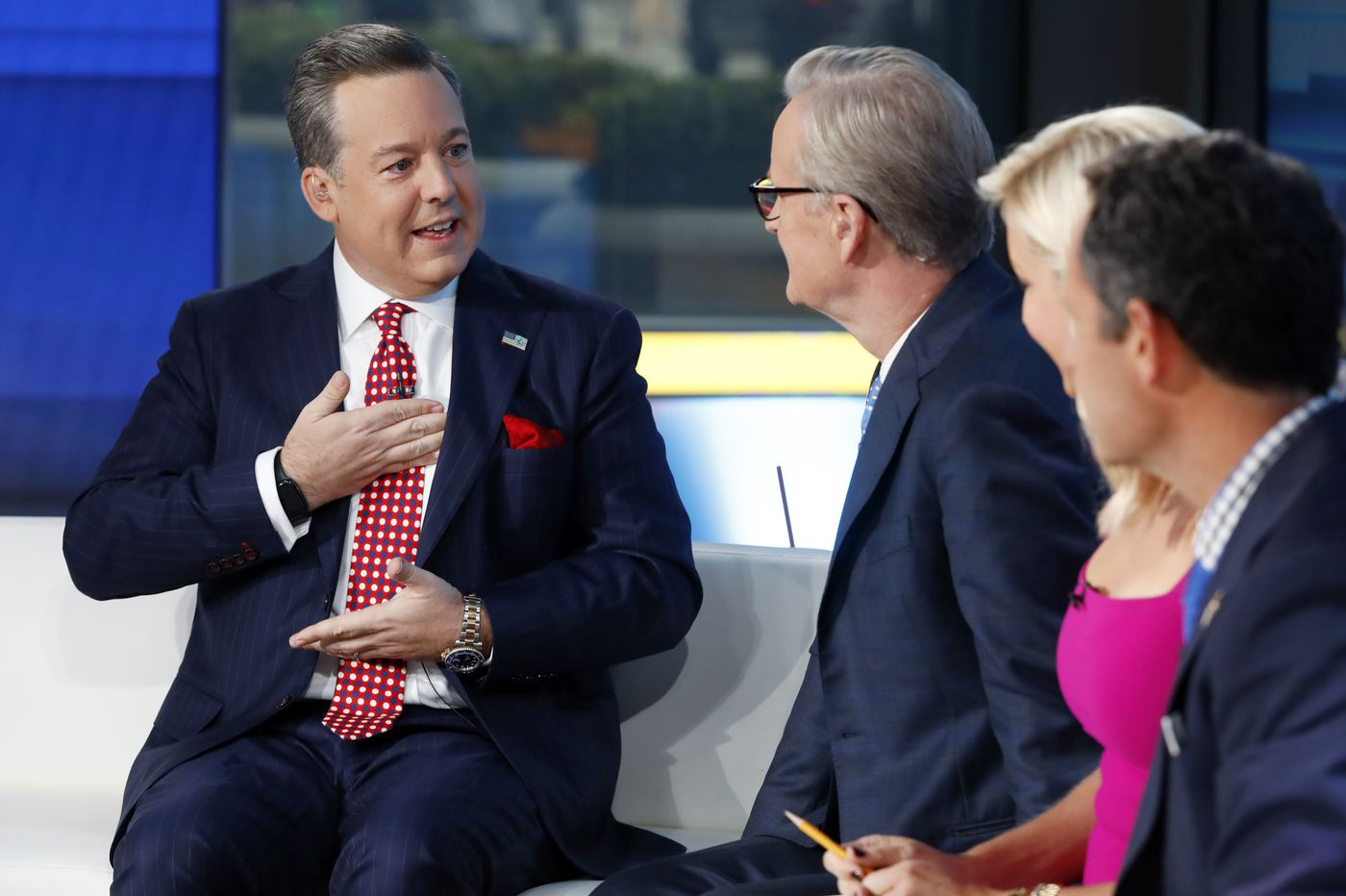 Fox News anchor Ed Henry fired over sexual misconduct allegations