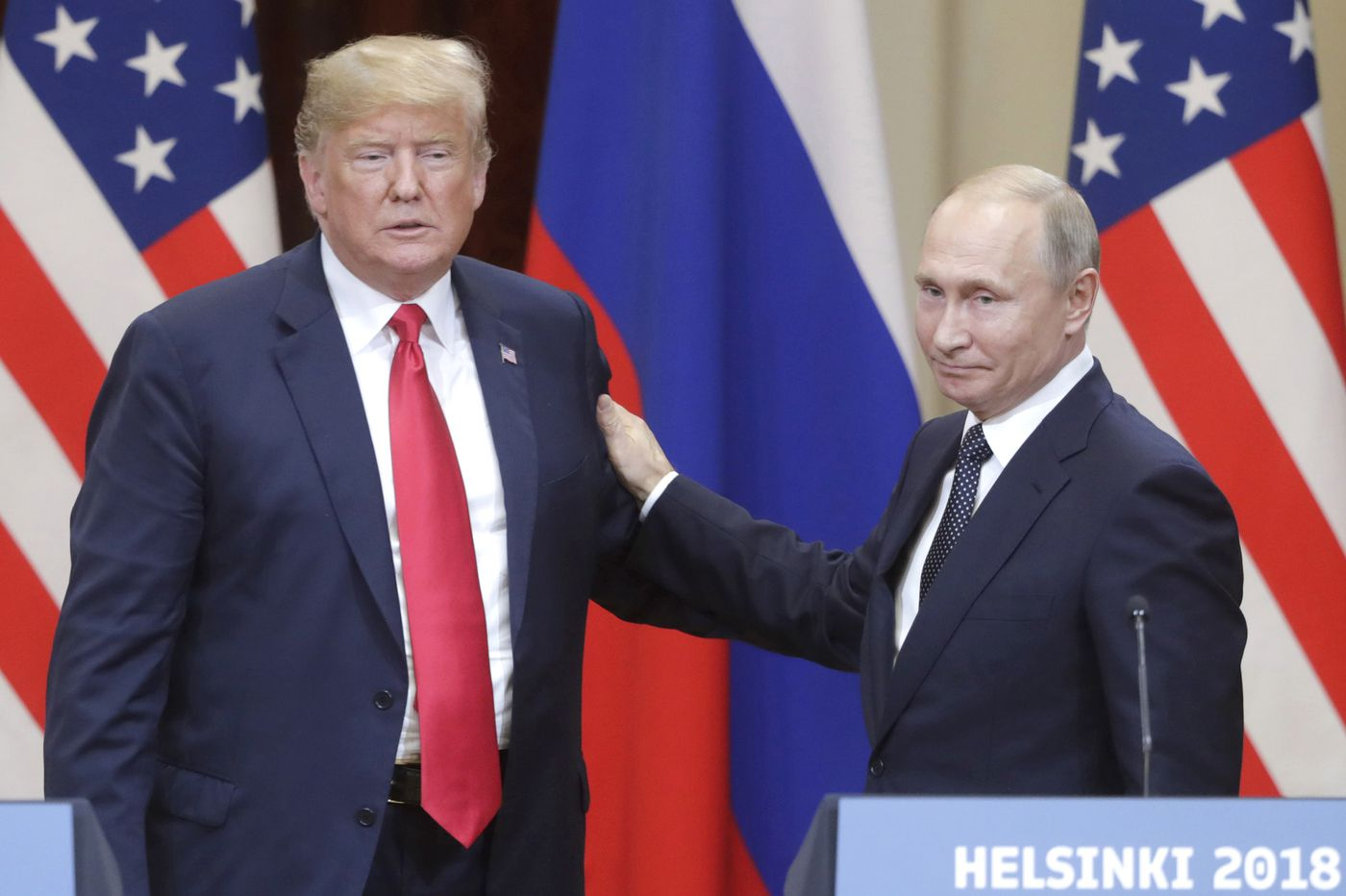 Are Trump's gifts to Putin the work of a gullible admirer rather than a mark of collusion? | Trudy Rubin