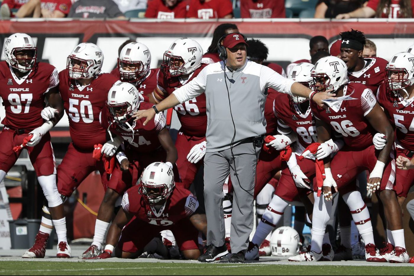 For Temple football staff, hectic time with recruiting and bowl prep