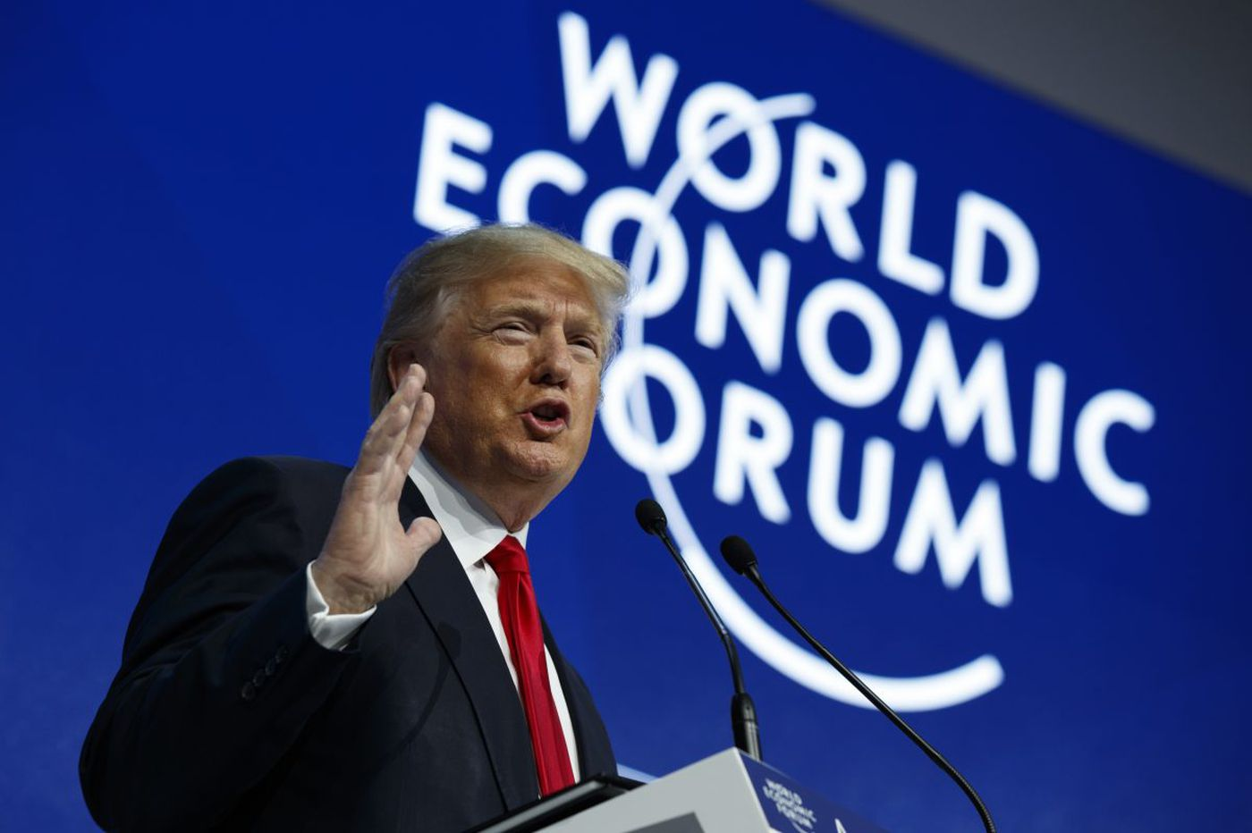 Trump sells America First at Davos Forum | Trudy Rubin