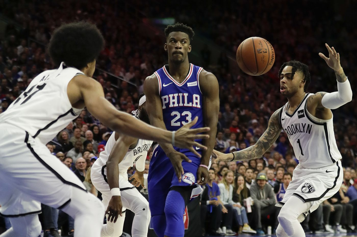 Jimmy Butler has become Sixers' leader in NBA playoffs series against Nets