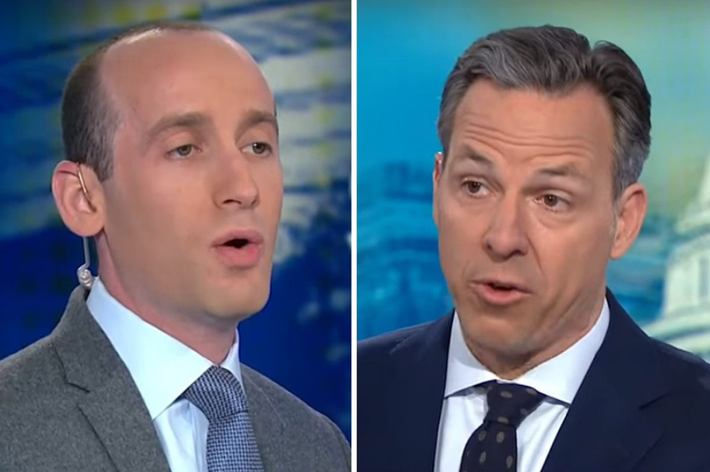 After bizarre interview, CNN had to call security on top Trump adviser