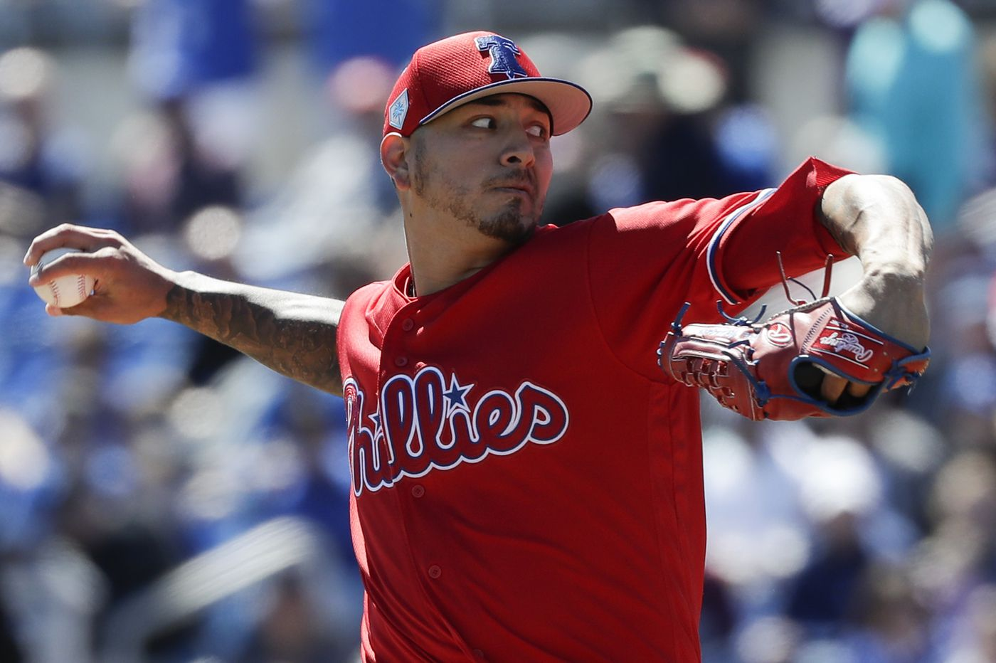 A new Phillies number for 'a new' Vince Velasquez