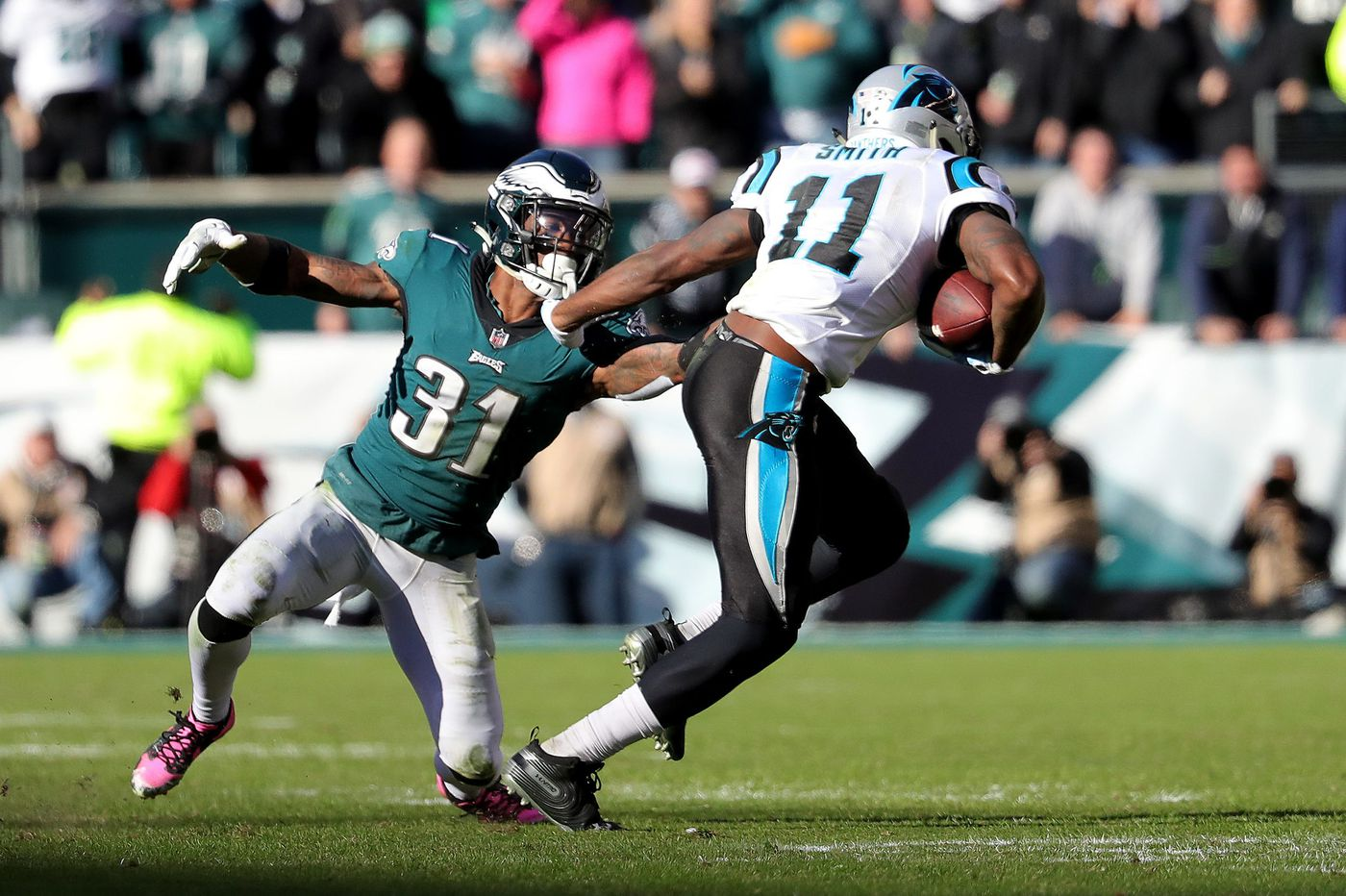 Panthers 21, Eagles 17: Birds give up 17-point lead in fourth quarter for worst collapse in years