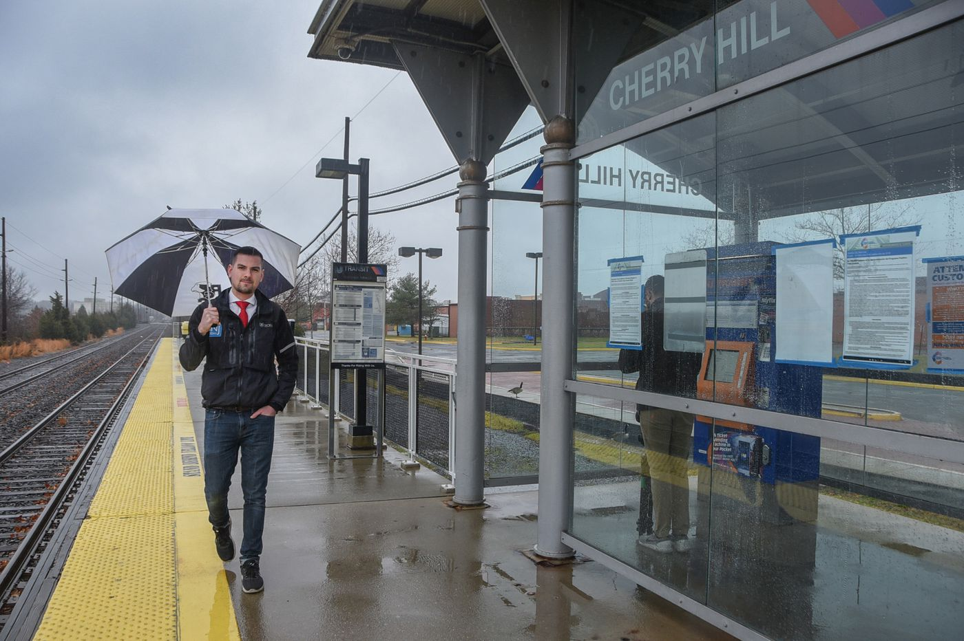Shore weatherman predicts stormy skies if NJ Transit doesn't soon restart Atlantic City train line to Philly