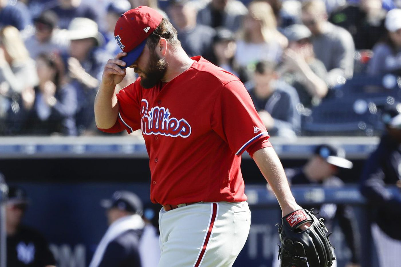 Tommy Hunter headed to disabled list with hamstring injury