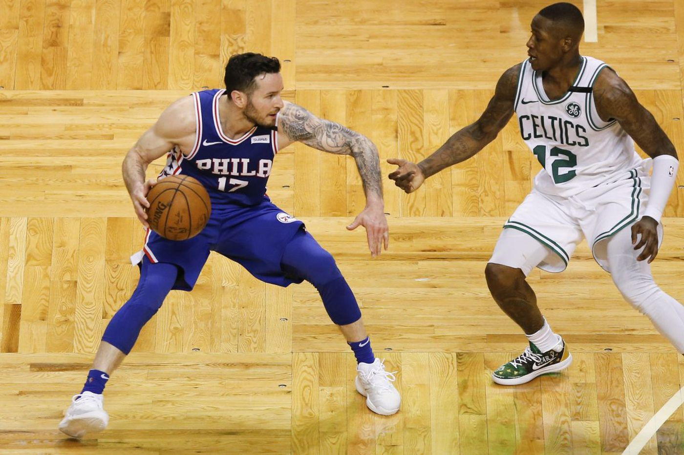 JJ Redick, Sixers' veteran shooters disappear when they're needed most