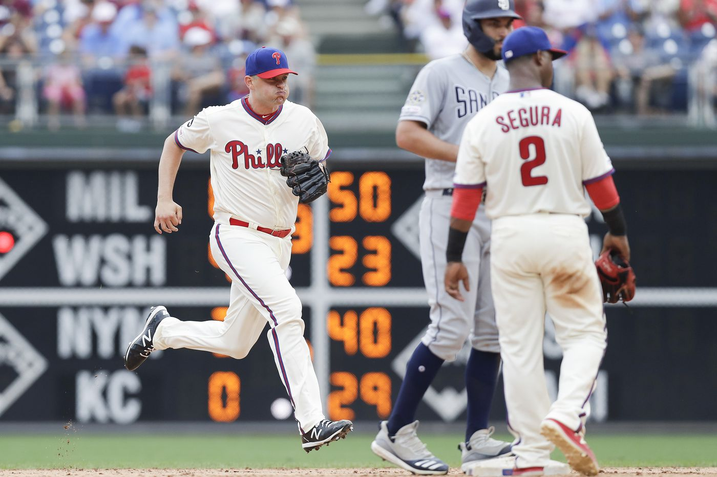 Why does Phillies pitcher Jared Hughes sprint to the mound? | Extra Innings