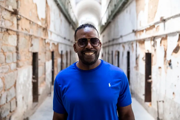 Jerome Loach, 55, of Philadelphia's West Oak Lane neighborhood poses for a portrait at the Eastern State Penitentiary.