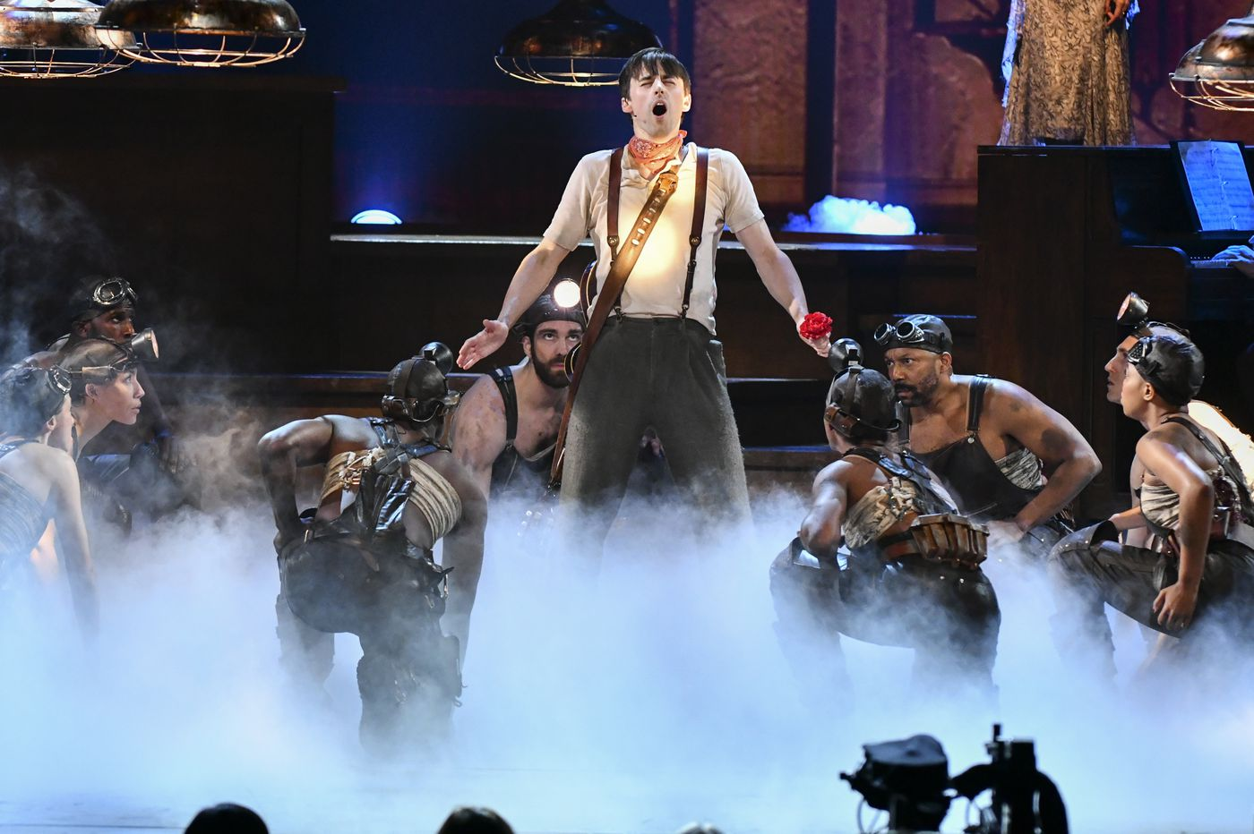 Tony winners: 'Hadestown,' from a producer with Philadelphia ties, captures 8 awards, including best musical